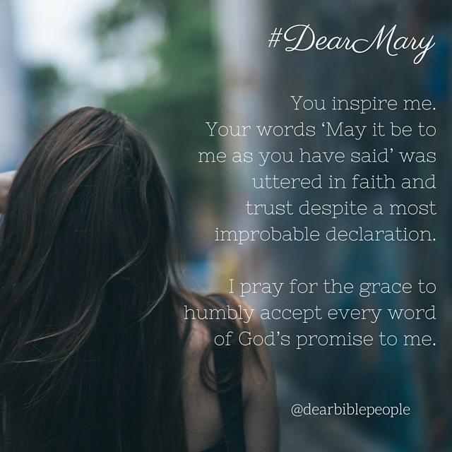 mary dear bible people